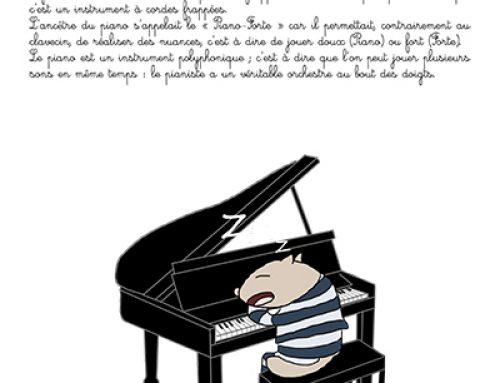 Fiche : piano