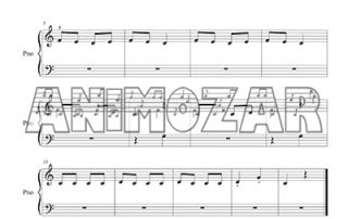 5 partitions pianistes débutants