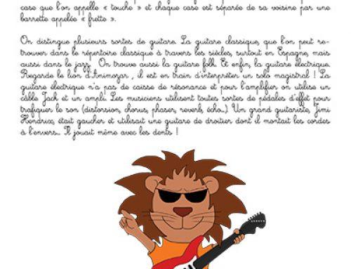 Fiche : La guitare