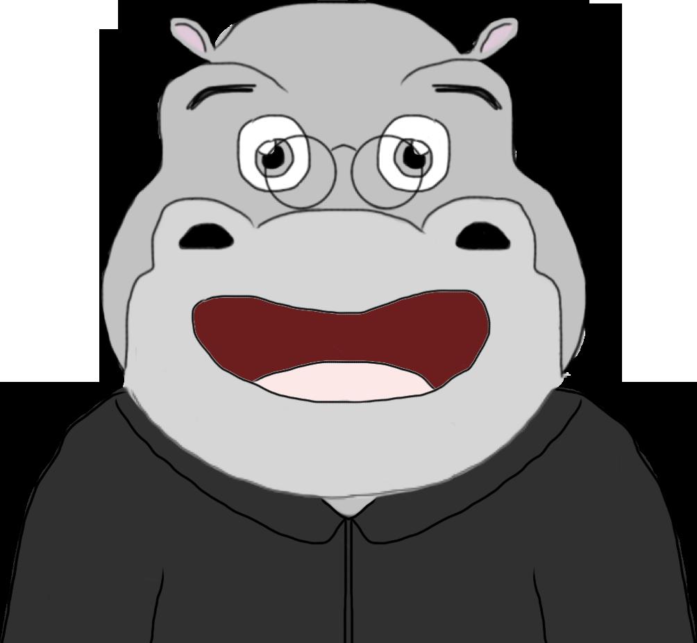 Professeur Hippopotame