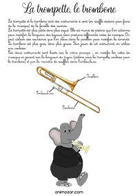 Fiche trompette trombone