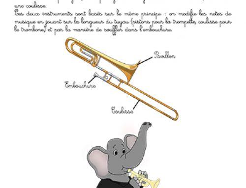 Fiche : trompette, trombone