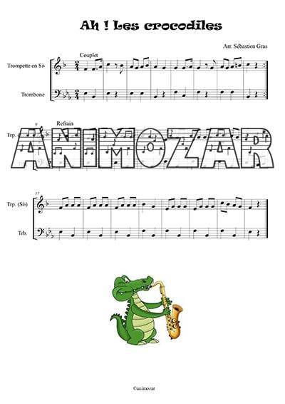Ah les crocodiles trompette trombone