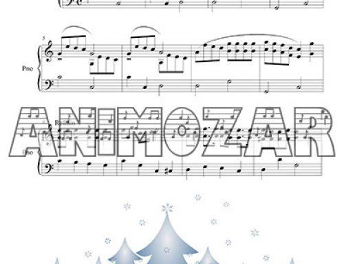 Partition : «Vive le vent» pour piano