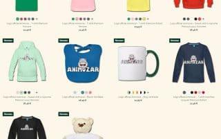 Vêtements et accessoires Animozar