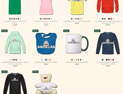Nouveauté 2019 : vêtements et accessoires Animozar
