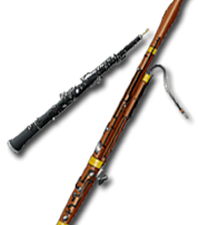 Le hautbois et le basson