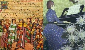 Les courants musicaux, du Moyen-Age au début du XXème siècle