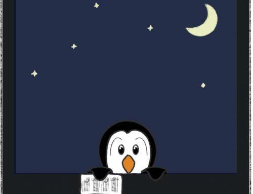 BD : Cette nuit, un pingouin…