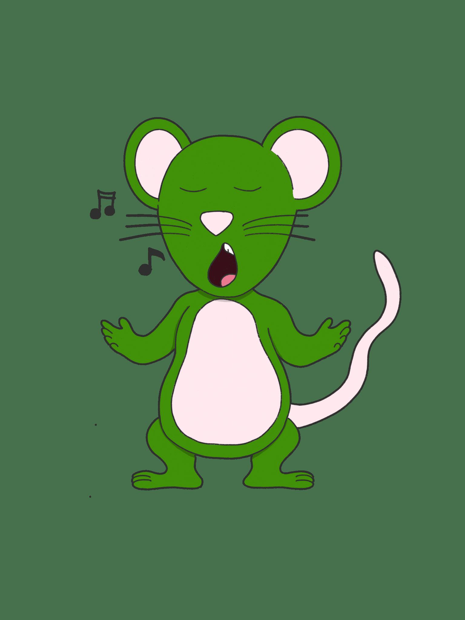 Souris Verte Animozar