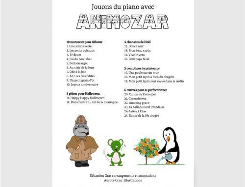Jouons du piano avec Animozar : la deuxième version est arrivée !