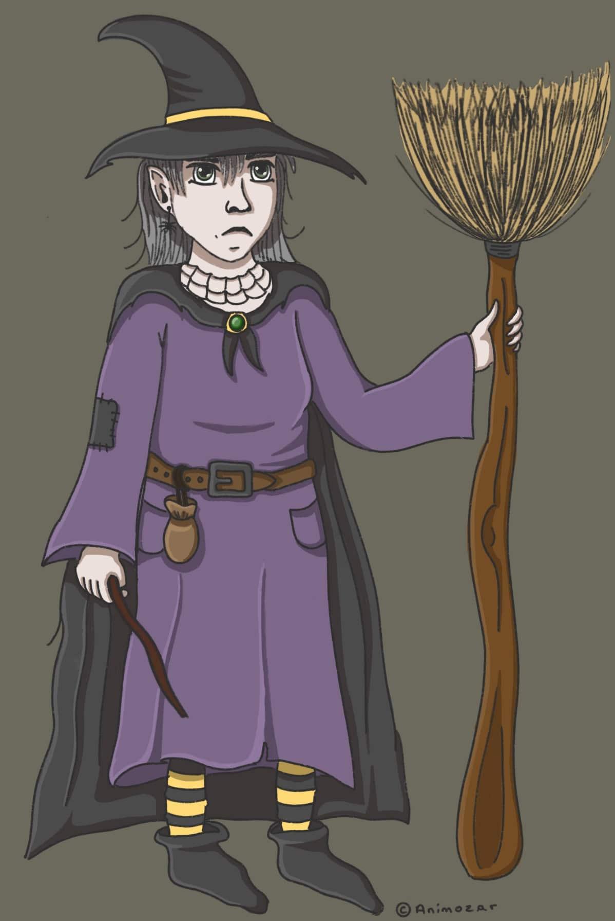 La sorcière triste Animozar