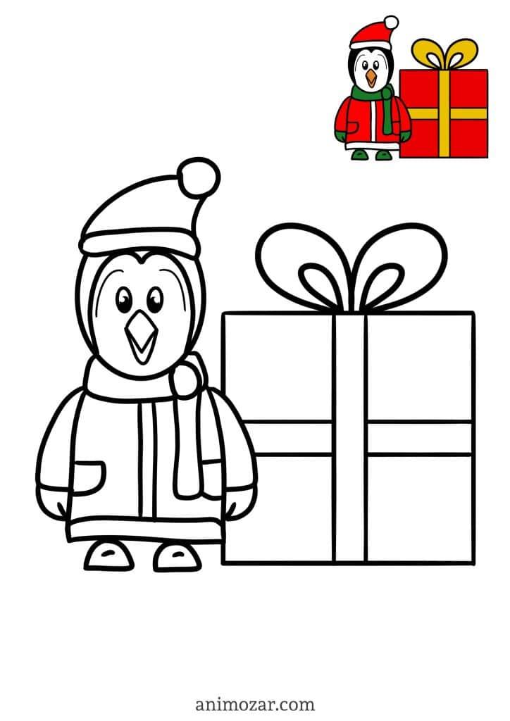 Coloriage Noel Animozar