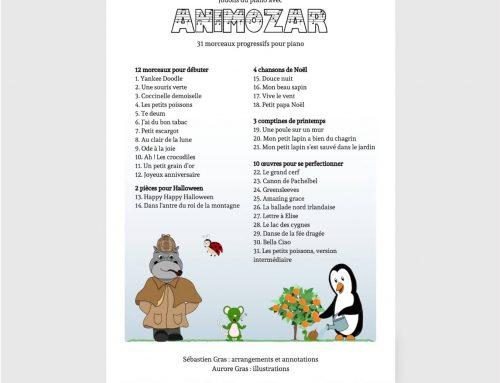 Jouons du piano avec Animozar : la troisième version est arrivée !