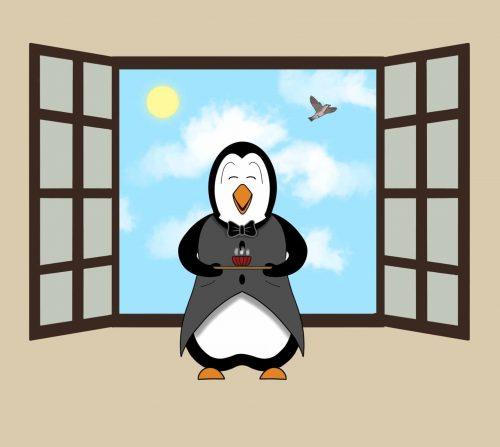 Pingouin Matin symphonie des animaux