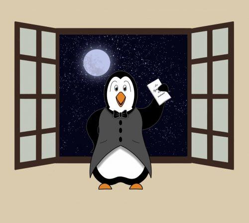 Pingouin nuit symphonie des animaux